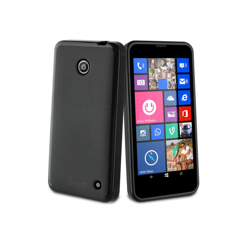 Muvit MUSKI0385 Nokia Lumia 630 or 635 Black Case