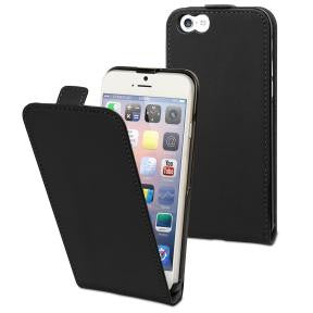 Muvit Smooth Black Slim Folio Case For Apple Iphone 6 Plus