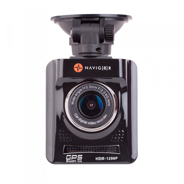 Navig8r Pro X UHD 1296p in Car Digital Video Recorder with GPS Map Display