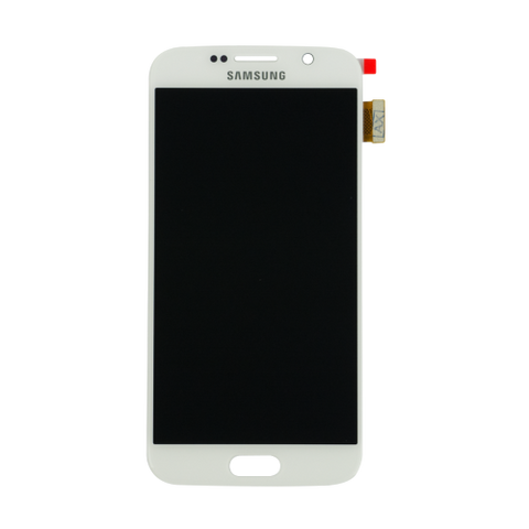 Samsung Galaxy S6 SM-G920I LCD and Touch Screen Assembly [White]