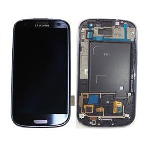 Samsung Galaxy S3 i9300 LCD and Touch Screen Assembly with Frame [Blue]