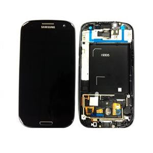 Samsung Galaxy S3 i9305 LCD and Touch Screen Assembly with Frame [Black]