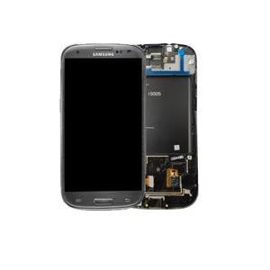 Samsung Galaxy S3 i9305 LCD and Touch Screen Assembly with Frame [Grey]
