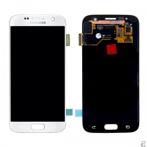 Samsung Galaxy S7 G930F LCD and Touch Screen Assembly [White]