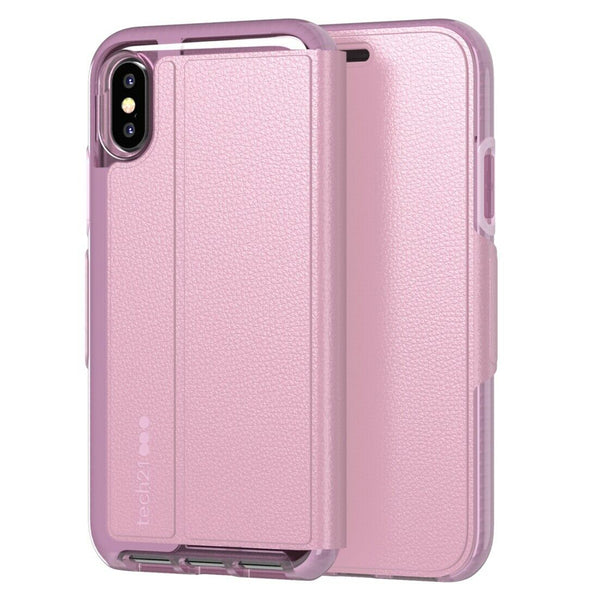 Original Tech21 Evo Wallet for iPhone X/ Xs ,  XR , Xs Max - Orchid   AU Stock