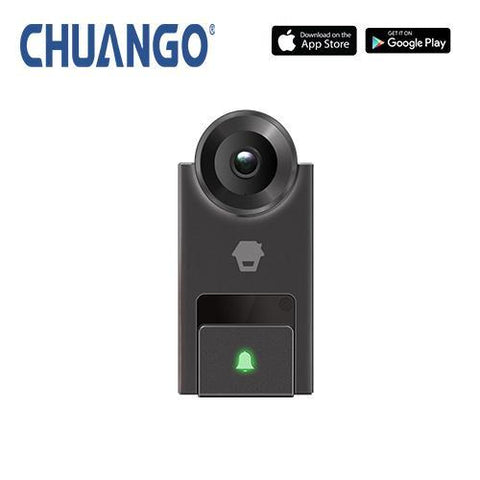 CHUANGO 2-way smart video doorbell intercom with smartphone app