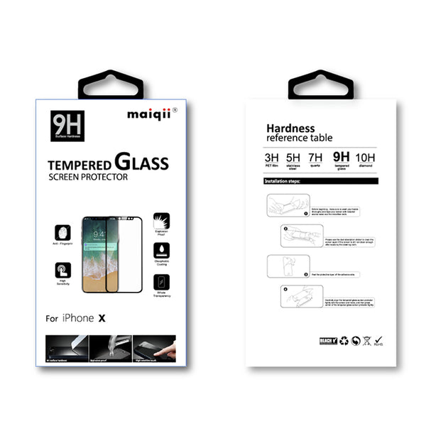 MAIQII™ Apple iPhone X Tempered Glass Screen protector