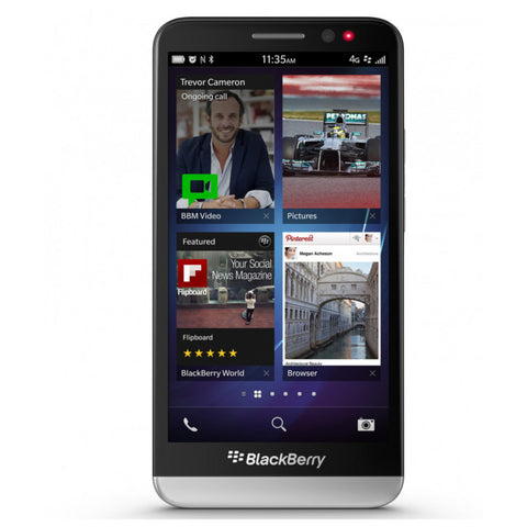 "Blackberry Z30 4G LTE OS10 16GB 8MP 5"" Unlocked SmartPhone - Furbished"