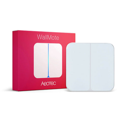 AEOTEC Z-wave Wireless WallMote Double or Quad wall switch for SmartHome hub