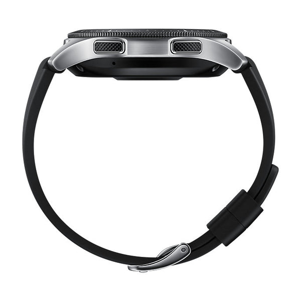 The New Samsung Galaxy Watch 46mm Silver - Waterproof HR Monitor Bluetooth