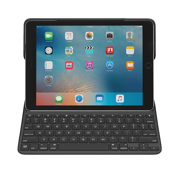 Logitech CREATE Backlit Keyboard Case for iPad pro 9.7 with Apple Pencil holder and Smart Connect