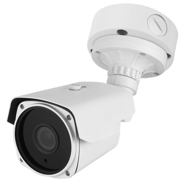 DigiGuard TVI 5MP TVI Vari-Focal Lens 4x Matrix IR IP67 Weather Proof Bullet Camera with junction box