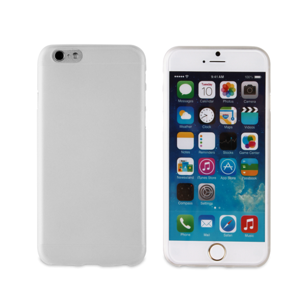 Muvit MiniGel transparent iPhone 6 case