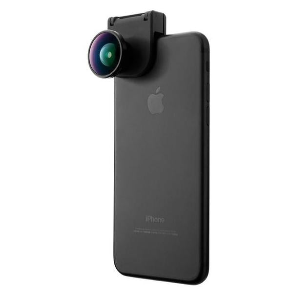 Bitplay Moment style 2-in-1 Wide Angle & Micro Len kit with bitplay Clip for Apple iPhone