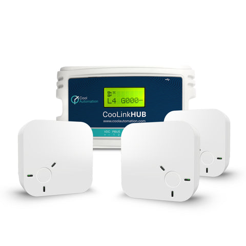 CooLinkHub Home Automation Multi-split and split air conditioning systems Controler
