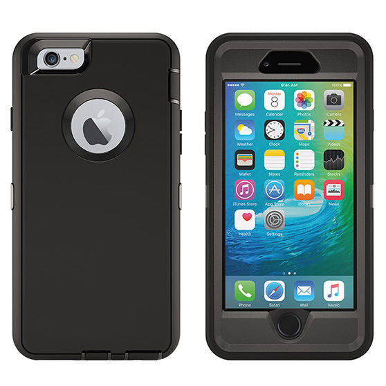 Apple iPhone 6/6s heavy duty Defender style rugged shockproof case