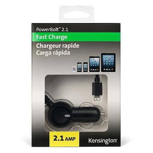 Kensington  2.1 A powerbolt lightning car charger