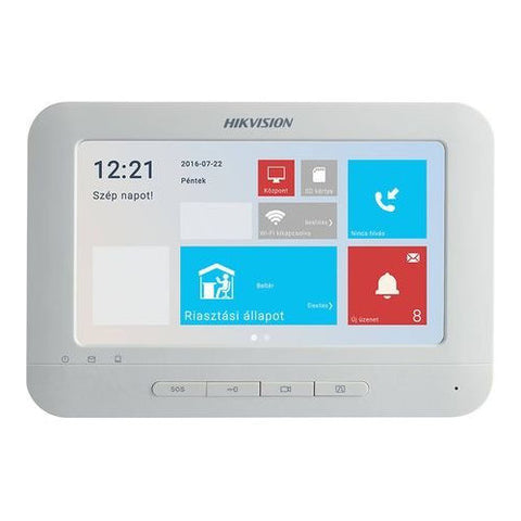 "Hikvision DS-KH6210-L 7"" IP Access Control Video Intercom Indoor Station Monitor"