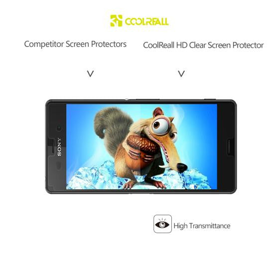 CoolReall™ Ultra-Clear Screen Protector for Sony Xperia Z3 Product