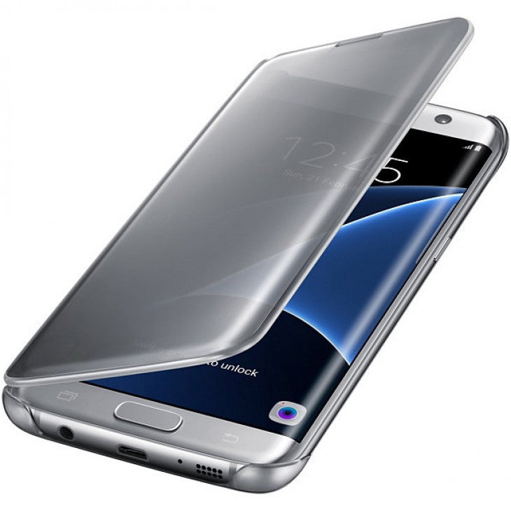 Clear View Cover Original For Samsung Galaxy S7 Edge G935f Case Slim