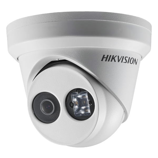 Hikvision 4-Channel NVR + 4 x 4MP IR Turret EyeBall IP Outdoor Cameras CCTV Package