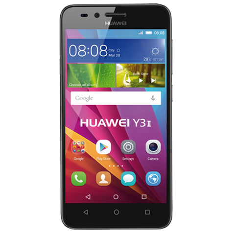 "Optus Huawei Y3 Mark II 4.5"" HD 5MP Quad Core prepaid Smartphone"