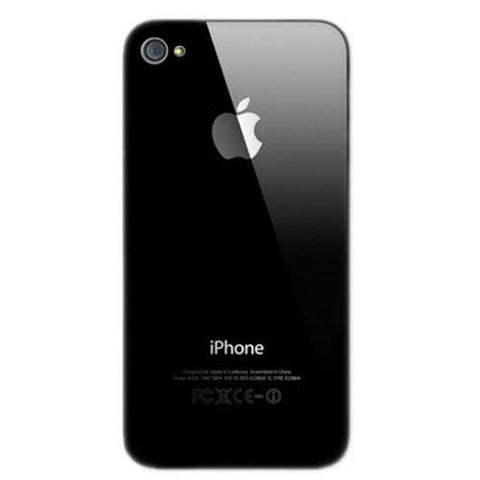 Apple iPhone 4S Back Cover [Black]