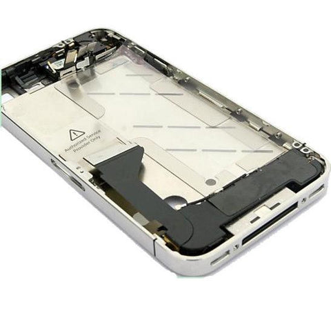iPhone 4 middle frame assembly with flex cables and buttons