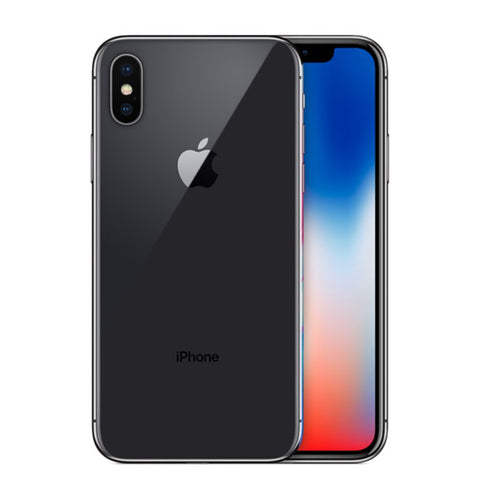 "Apple iPhone X 5.8"" S Retina OLED with Face ID Water resistance 12MP Smartphone"