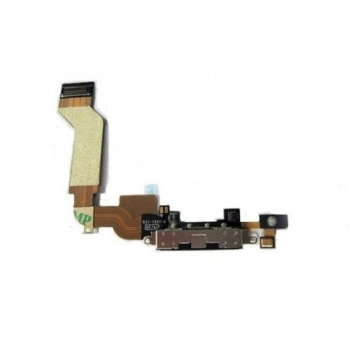 iPhone 4S charging port flex cable with microphone [Black]