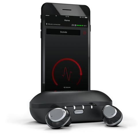 Nuheara IQbuds Intelligent Augmented Hearing earbuds with Dynamic Noise Control and Speech Amp
