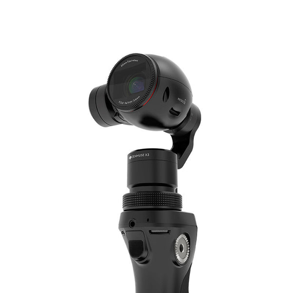 DJI OSMO 4K 12MP camera with slow motion and audio recording