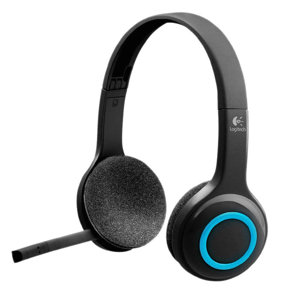 Logitech H600 fordable Noise-cancelling Wireless Computer Headset with USB receiver