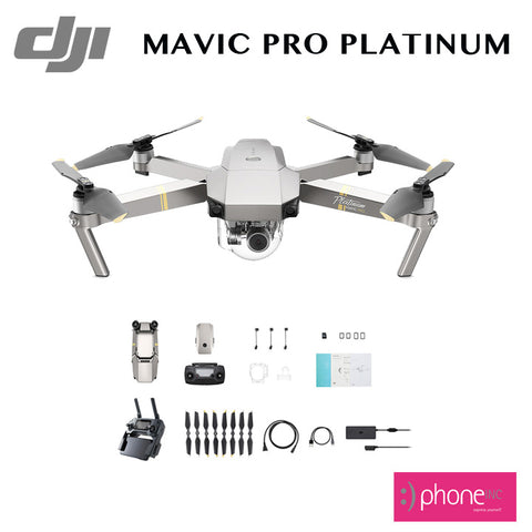 DJI Mavic pro platinum 4K flying camera drone