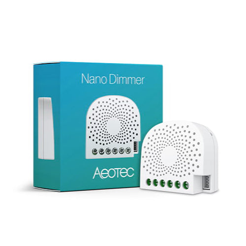 Aeotec Z-wave Nano Dimmer remote controlled dimmer switch for SmartHome Hub