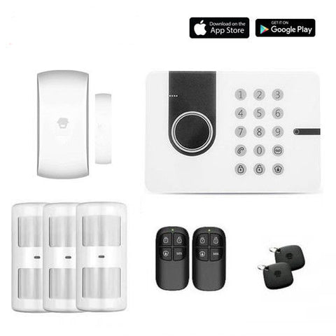 Chuango G5W (3G SIM included) Self Monitored Pet friendly Smart Security Alarm Small DIY Kit