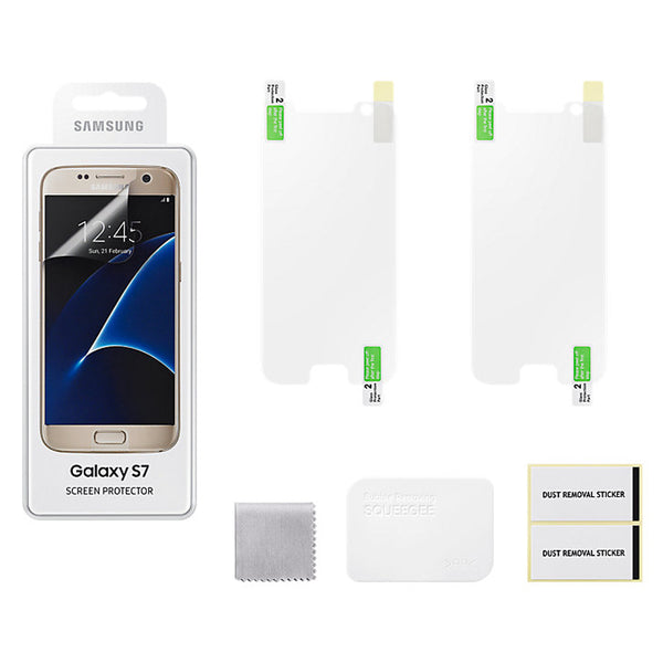 "Genuine Samsung Galaxy S7 (5.1"") Screen Protector in Samsung Retail Packaging"