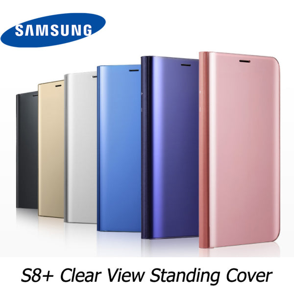 Samsung Galaxy S8+ (S8 Plus) Clear View Flip Cover Stand