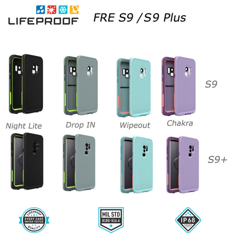 LifeProof Fre WaterProof DropProof Case for Samsung Galaxy S9, S9+, S8, S8+, S7, & S5