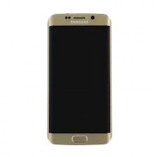 Samsung Galaxy S6 Edge SM-G925I LCD and Touch Screen Assembly with Frame [Gold]