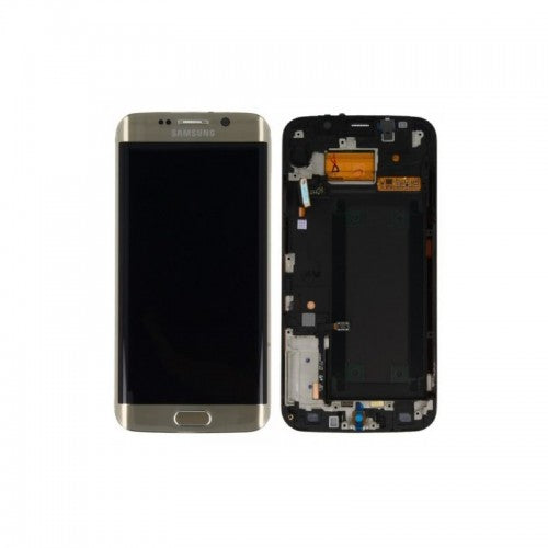 Samsung Galaxy S6 Edge Plus SM-G928I LCD and Touch Screen Assembly with Frame [Gold]