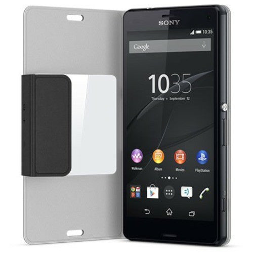 low priced 4c341 8e193 Sony SCR-26 Xperia Z3 Compact smart window case