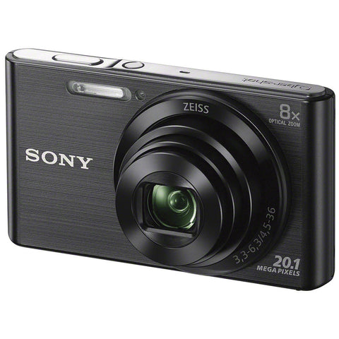 Sony DSCW830 20.1MP 8X 25MM HD720P CYBER-SHOT BLACK