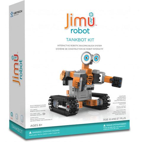 UBTECH JIMU TankBots STEM Programming Education Robot Kit