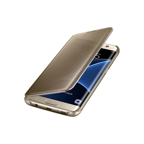 "Original Samsung Galaxy S7 Edge (5.5"") Clear View Cover"