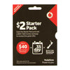 Vodafone $2 Roaming SIM Starter Pack for New Zealand