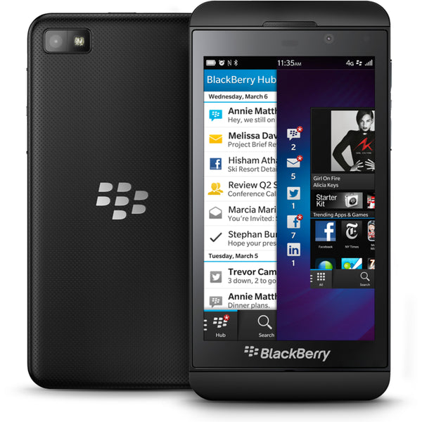Blackberry z10 4G LTE OS10 16GB 8MP Unlocked SmartPhone - Furbished