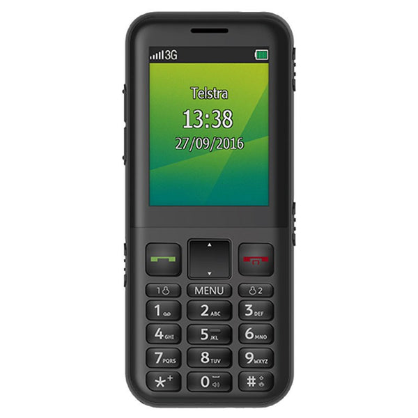 ZTE Easycall 4 T403 3G blue tick mobile handset with Keypad