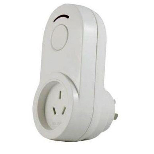 DHS Z-Wave Dimmer Plug-In AC power adaptor with switch