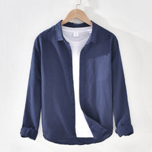 Load image into Gallery viewer, Pure Cotton Casual Square Collar Long Sleeves